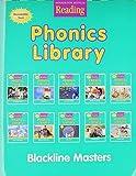 Phonics Library: Blackline Masters Level 1 (Houghton Mifflin Reading)
