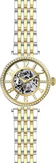 Invicta Women's 32295 Objet D Art Automatic 3 Hand Gold Dial Watch