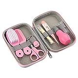 10 unids/set recortador de uñas para bebés, kit de cuidado de la salud, kit de cuidado de la salud portátil, kit de aseo para bebés recién nacidos, juego de cuidado de seguridad para cortaúñas