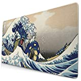 Gyarados Po-Ke_Mon Large Gaming Mouse Pad,with Non-Slip Computers Laptop Office&Home 750×400×3mm (29.5×15.8×0.12 Inch)