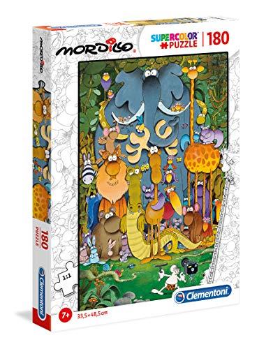 Clementoni- Puzzle 180 Piezas Mordillo : The Picture (29204.2)