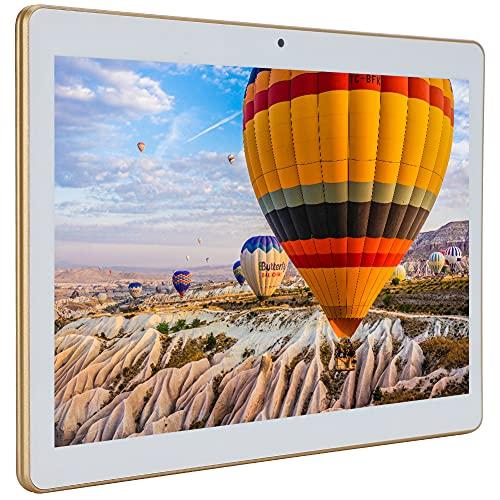 Tableta de Resolución 1280 X 800, Tableta de Visualización Completa de Pantalla Grande con 1 + 16G de Memoria Tableta MT6580 de Cuatro Núcleos para Android 8.1(EU)