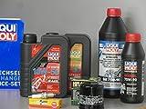 Kit de mantenimiento para ATV Quad Polaris Sportsman 500, servicio de inspección de aceite, bujía