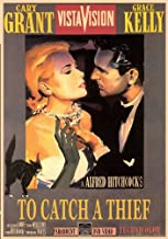 (27x40) To Catch a Thief - Cary Grant Grace Kelly Movie Poster