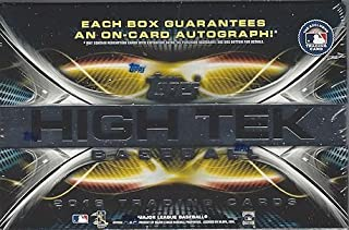 2016 Topps High Tek MLB Baseball HOBBY box (8 cards)