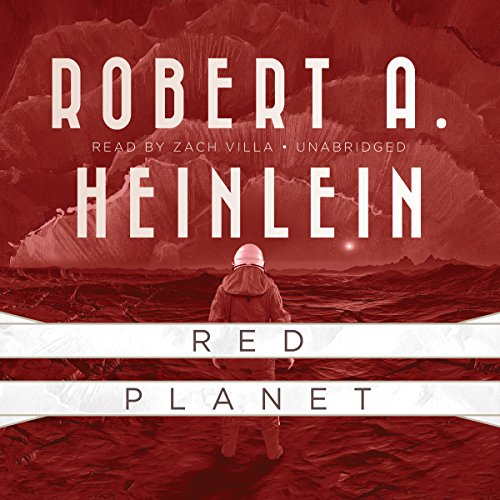 Red Planet audiobook cover art