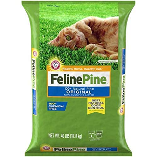 Feline Pine Original Cat Litter (40 LBS.)
