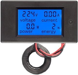 AC220V 22mm Digital Ammeter 0-100A Current Monitor Meter Signal Lamp Amperemeter By BLINGYING