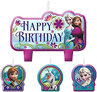 Birthday Candle Set | Disney© Frozen Collection | Party Accessory