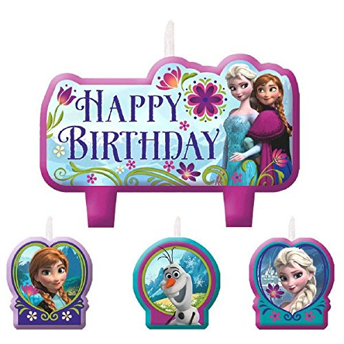 Birthday Candle Set   Disney Frozen Collection   Party Accessory