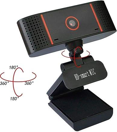 Linbing123 Webcam, videochiamata Full HD e Microfono Audio Stereo Plug And Play Fotocamera USB, Compatibile con Video Chat, monitoraggio esami, videoconferenza - Trova i prezzi più bassi