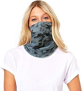 Sun UV Protection Face Mask Neck Gaiter Tube Bandana for Women Men Face Scarf Fishing Mask