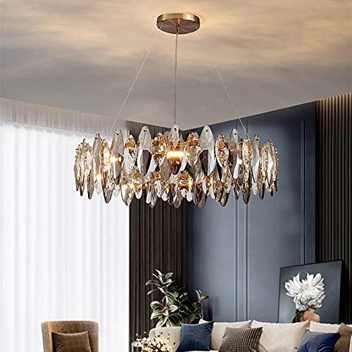 Lampadario Camera da Letto CRABOT Moderno 16 Bracci Led E14 [Con lampadina] Cristallo Vintage Lampadari Moderni per Salotto Cucina Soggiorno Industriale Lampada Sospensione