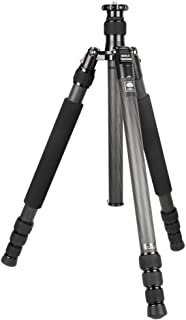 SIRUI N-2204X 4 Section Pro Carbon Fiber Tripod with Travel Bag (Max Load 33lb)