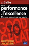 De la Performance à l'Excellence - PEARSON (France) - 23/06/2009
