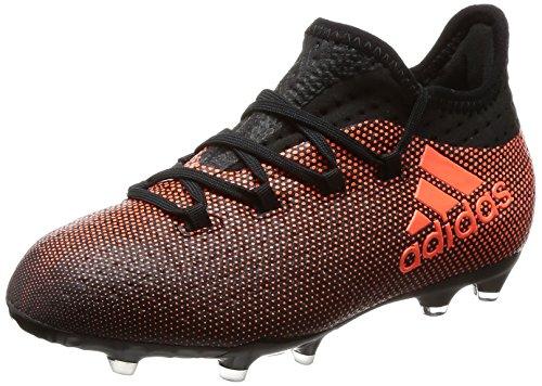 adidas adidas Damen X 17.1 FG JR S82296 Fußballschuhe, Mehrfarbig (Core Black/Solar Red/Solar Orange), 37 1/3 EU