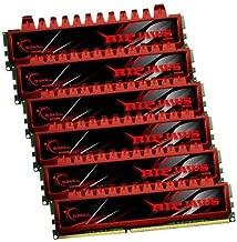 24GB G.Skill DDR3 PC3-10666 1333MHz Ripjaw Series (9-9-9-24) Triple2 Channel kit 6x4GB