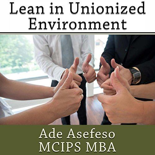 Lean in Unionized Environment audiobook cover art