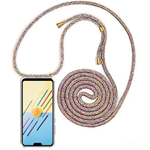 Carcasa de movil con Cuerda para Colgar Xiaomi Mi 8 Lite【Versión Popular 2019】 Funda para iPhone/Samsung/Huawei con Correa Colgante para Llevar en el Cuello -Hecho a Mano en Berlin