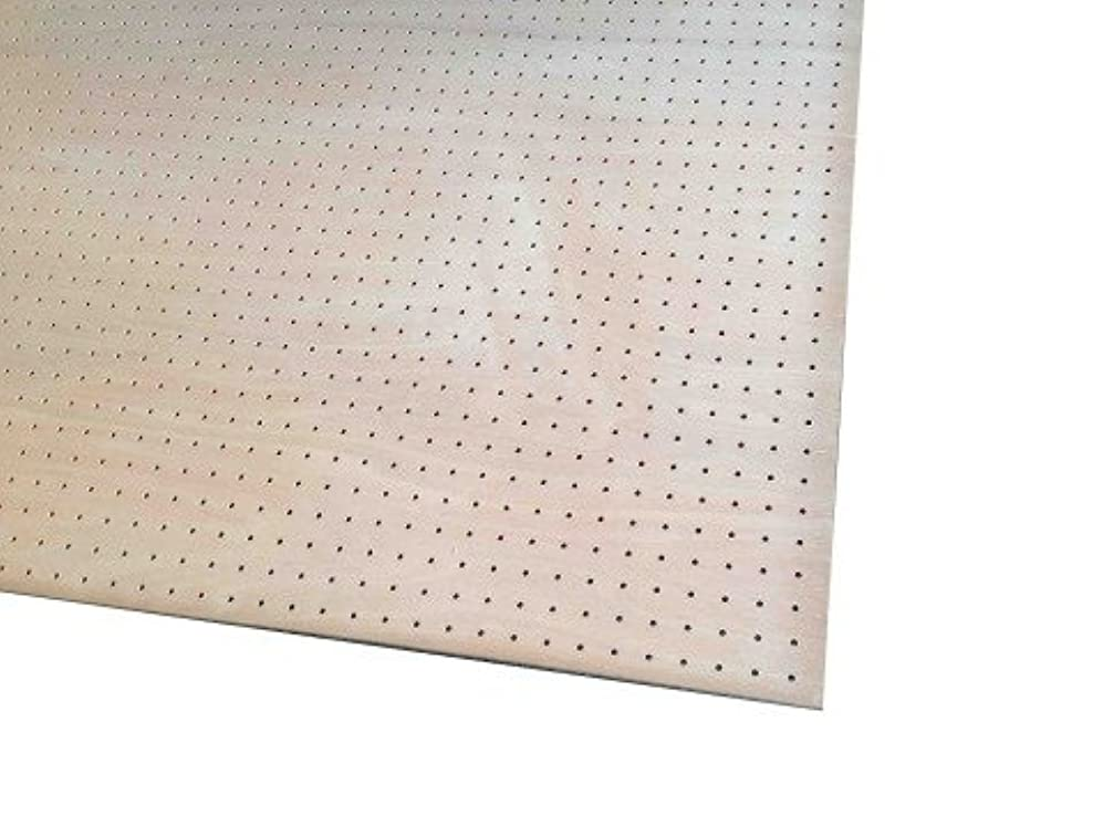 バッグ厳密にバッフルラワン有孔合板 タイプ1(T1) (F4S) 4mm 600mm×900mm 3枚入り<P>