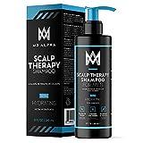 Scalp Therapy Shampoo, 8oz - Ultra Hydrating With Natural Tea Tree Oil, Caffeine, Jojoba and Saw...