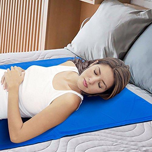 HYJ Magic Multifunktionale kühlende Gel-Matratzenauflage für Yoga, 100 {f0508b905982fd9ad9c6e78fe876403e9200988f402f126163368e5c8b1e741b} sicher und sauber, umweltfreundlich, XXL,60X90 CM