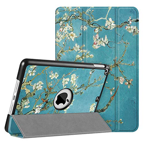 FINTIE SlimShell Case for iPad mini 5 5th Generation 2019 - Super Thin Lightweight Stand Protective Cover with Auto Sleep/Wake Feature, Blossom