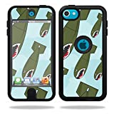 MightySkins Skin Compatible with OtterBox Defender iPod Touch 5G Case wrap Cover Sticker Skins Bombs Away