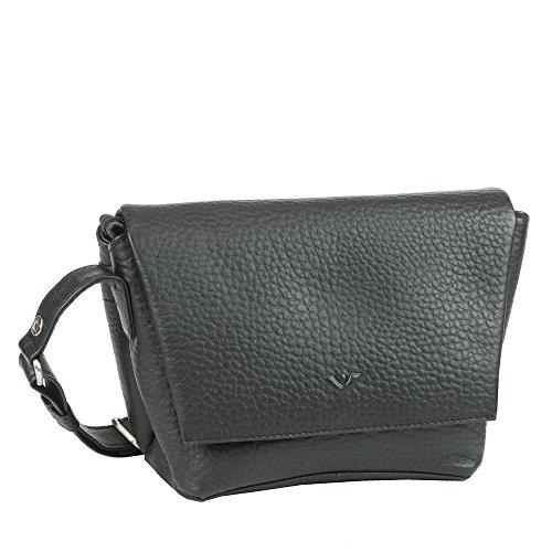 VOI, Überschlagtasche, 21879 Hirsch, schwarz (1), Umhängetasche