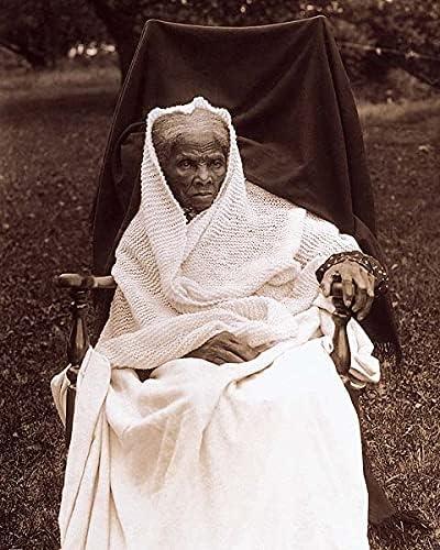 Abolitionist Harriet Manufacturer OFFicial shop Tubman Home Portrait Silver Halide Max 66% OFF 8x10 Pho