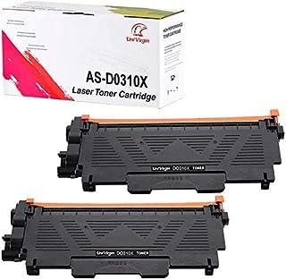 Compatible E310 Toner Cartridge Replacement for Use in Dell E514dw Dell E515dw Dell E515dn for Brother E310 E514 E515 E310dw(Black,2-Pack) UniVirgin