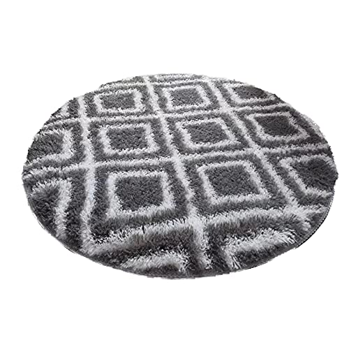Furry Carpet for Teen's RoomArtificial Rugs Living Room Rugs for Living Room Home Decoration Small Rugs,Cute Room Decor for Baby Super Soft Living Room Home Shaggy Carpet (J, 80x 80 cm)