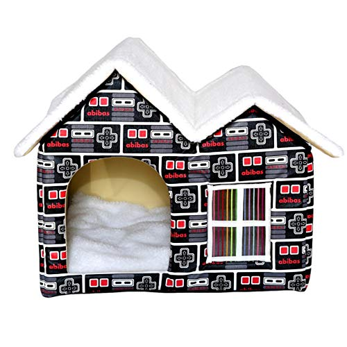 feichanghao Warm Dog Cat Kennel House Wasserdicht Wetterfest Indoor Outdoor Faltbares Tierheim Welpennest