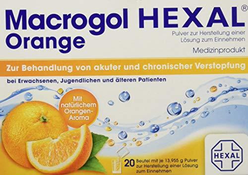 HEXAL AG Macrogol Hexal Orange, 20 Stück