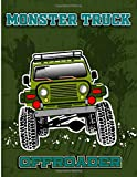 Monster Truck Offroader: A Fun Coloring and Activity Book For Kids With, Dot to Dot, Mazes Puzzles, and More for Ages 4-8 | 35 Awesome Big Foot Vehicles Designs!