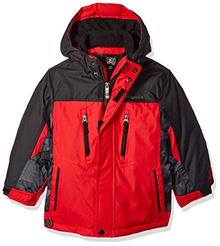 ZeroXposur Little Juvi Boys Ranger 3in1 Systm Jacket, Red, Large