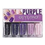 Guylond púrpura gradación Esmalte de Uñas Set, 1er Pack (1 x 20 ml)