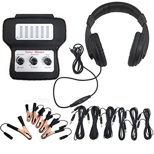 CACAG Car Electronic Stethoscope Kit Auto Noise Diagnostic Tool Find Engine Noise Diagnosis Scope