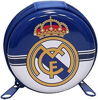 Real Madrid Round Metal Purse Purse, 25 cm, Multicolor