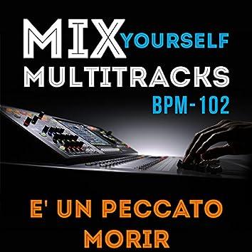 Mix Yourself Multitracks - E' un peccato morir (Bpm-102)