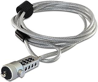 DeLOCK Navilock 20643 - Cable de Seguridad, Color Plateado