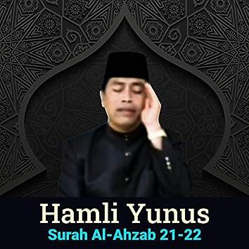 Al-Ahzab 21-22