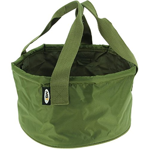 NGT Unisex's Deluxe Ground Bait Bowl with Handles, Green, One Size