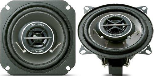 Pioneer TS-1002i Markenspezifische 2-Wege Auto-Lautsprecher (10 cm Wooferdurchmesser, 120 Watt, Steckverbinder für Renault, Opel, Volkswagen)