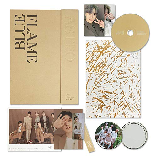 ASTRO 6st Mini Album - Blue Flame [ THE BOOK ver. ] CD + Photobook + Bookmark + Selfie Photocards + Postcards + OFFICIAL POSTER + FREE GIFT / K-pop Sealed