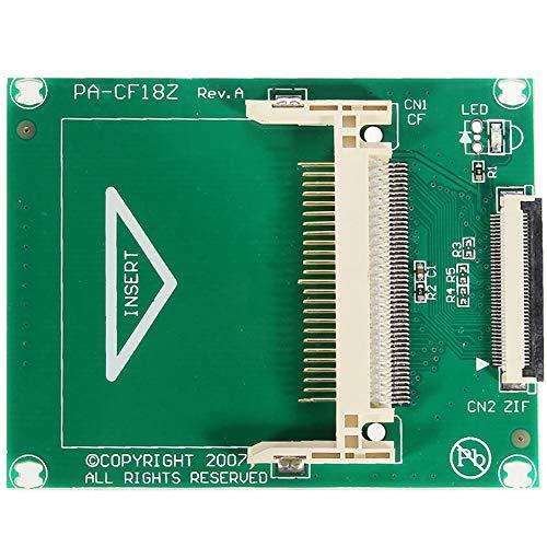 SUNERLORY Conexión del Adaptador HDD, Interfaz Host ZIF de 1,8 Pulgadas con 2 Cables Modos CF DMA Tarjeta Flash Computadora de Video CE para Apple