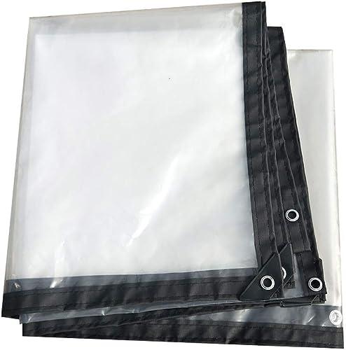 M-X-Y Bache serreToile en Plastique antipluie 120g   Proof de Couverture de Feuille de Sol de bache de Prougeection de bache Claire,5  5m