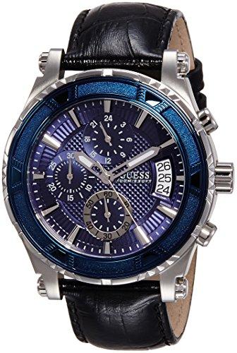 Reloj analógico para Caballero, de Cuarzo y Piel de Guess W0673G4