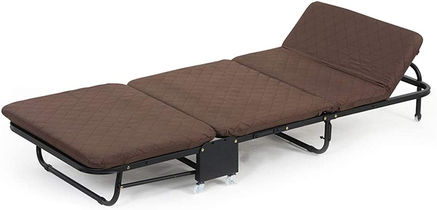 Bed Mattress Sets, Foldable Single Folding Lounge Sofa Strong Stable for Camping and Home