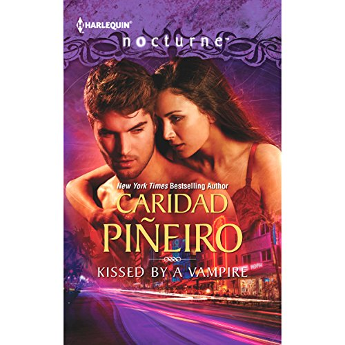 Kissed by a Vampire audiobook cover art